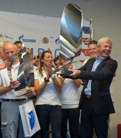 Prize Giving for Nord Stream Race 2013