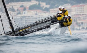 Das SAP Extreme Sailing Team fokussiert, aber die regelmässige Top-Plazierungen wollten sich nicht einstellen © Extreme Sailing Series