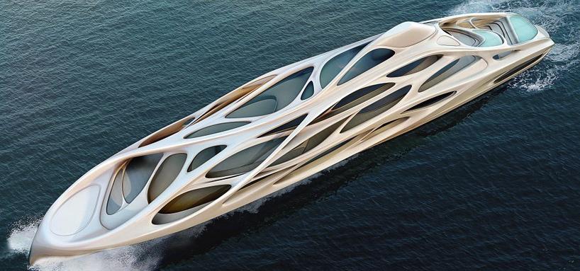 Superyachtbau star architektin zaha hadids schiff design segelreporter - Architektin zaha hadid ...