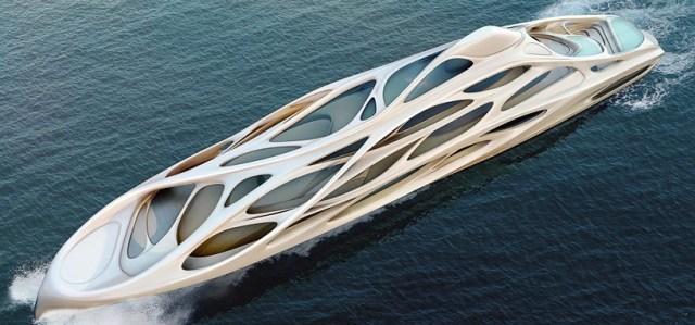 Zaha Hadid, Yacht Design