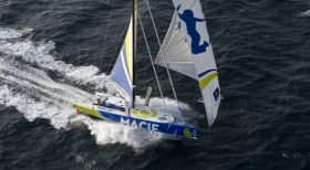 Vendée Globe-Sieger Fabart segelt gemeinsam mit Michel Desjoyeaux – ein Schock-Team! © liot