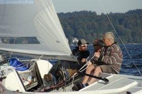 Hat der Steuermann die Lederhose an? © northoff