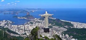 Der Corcovado Berg wacht über das Olympia-Revier unter dem Zuckerhut.  © Rio Olympics