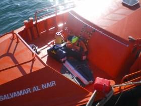 Die Habseligkeiten, die von Bord gerettet werden konnten. © Spanish Maritime Safety Agency