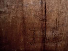 Spurensuche: Windvinder wird auf einem Fischerboot gesichtet und verewigt © windvinder