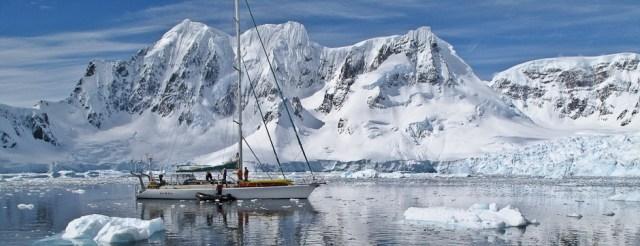 Antarktis, Ski, Segeln