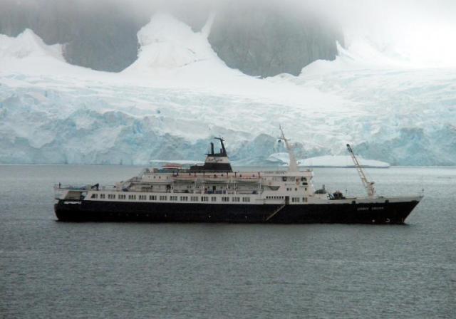 Das Geisterschiff in besseren Tagen © wikipedia