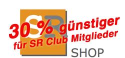 SR Shop für SR Clubmitglieder 30 % günstiger