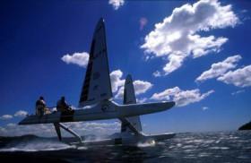 Starkes Studienobjekt: ENSTAR Catamaran © ENSTAR
