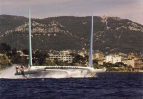 Es darf gerast werden – Ende Neunziger waren 40 Knoten für Boote dieser Größenklasse noch ein Abenteuer © ENSTAR