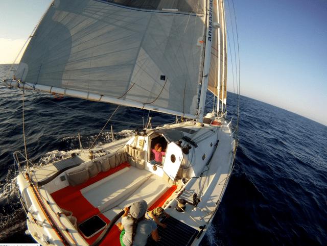"""Offshore-Familientörn auf Open 40 """"Anasazi"""" ging jäh zu Ende © somira sao"""