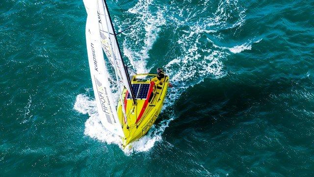 Auf 4,90 Metern Boot im zweitgrößten Ozean unseres Planeten © fipofix