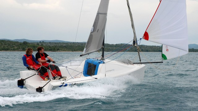 """Die Seascape werden jeweils gestellt – faire Duelle """"Boot gegen Boot, Crew gegen Crew"""" sind mit der Einheitsklasse garantiert © matchrace4U"""