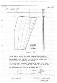 Das Fax von Sven Olof Ridder aus 2002 mit Tipps zur Profilierung des Swede 55 Ruders © Swedesail