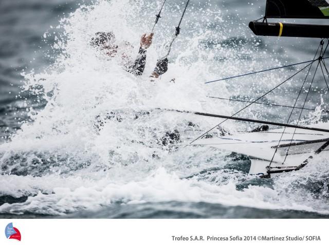 Wenn die internationalen Spitzensegler aufeinander treffen, ist Action garantiert © martinez/p.sofia