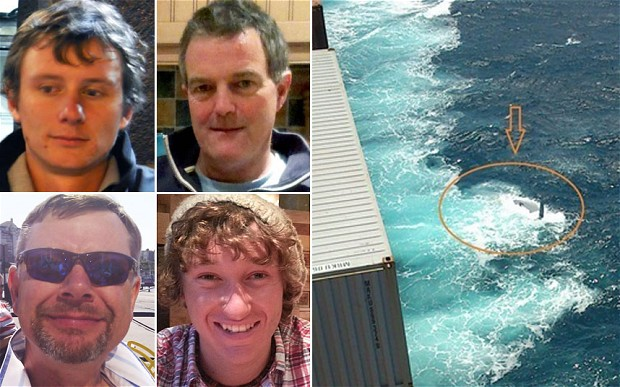 Die Vermissten, die gekenterte Yacht © privat, ENPA