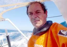 """Marc Guillemot verletzte sich bei einem Sturz – """"Safran"""" muss aufgeben! © safran"""