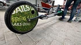 Reifen werden zu Klicks geflext @digger hamburg