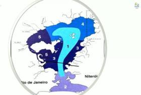 So verlaufen die wichtigsten Strömungen in der Bucht: hell = hoher Austausch, dunkel = nahezu Stillstand © secretario do ambiente