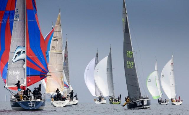 Die ORC WM 2014 in Kiel. © segelbilder