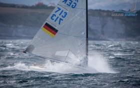 Lars Haverland taucht ab. © Sailing Energy