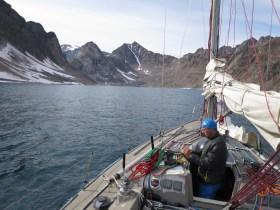 Totale Einsamkeit vor Grönlands Küste © villiger/fichtinger