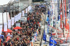 Mehr als 1,8 Millionen Menschen besuchten im letzten Jahr St. Malo zur Route du Rhum © rdr