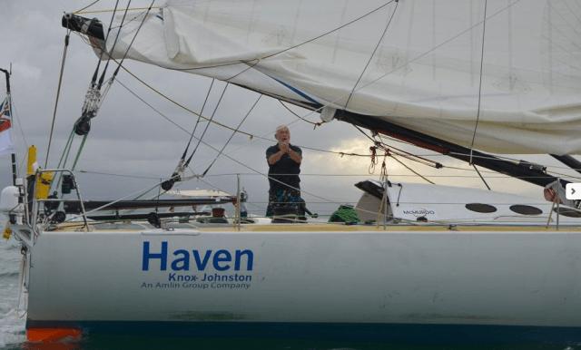 Beeindruckender Dritter: Sir Robin auf der Ziellinie vor Guadeloupe © pen duick