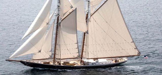 Von diesem 43 m Schlitten träumte Brian D'Isernia seit seiner Schulzeit © Eastern Shipbuilding