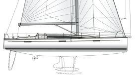 Die Dehler 46 wird mit vier Kielversionen, zwei L- und zwei T-Kielen mit verschiedenen Tiefgängen und Gewichten angeboten © Hanse Group