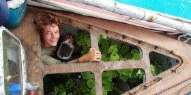 Unter Deck wächst das junge Gemüse besser © nomade
