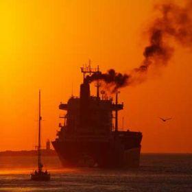 Mit Gas als Antrieb wäre die Luft über den Meeren nicht mehr so belastet  wie heute © Amt für Umwelt
