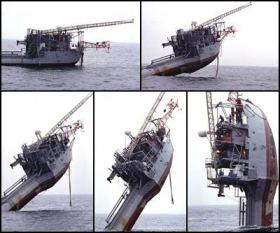 Vom Schiff zur Boje © Office of Naval Research