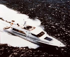 Mit der 46 kn schnellen 'Fortuna' wurde die Werft in der Motoryacht-Szene weltbekannt © Palmer Johnson