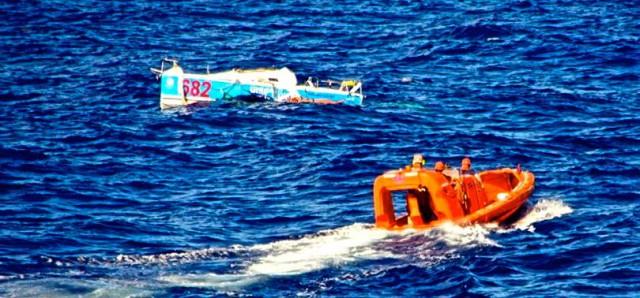 Der Mini 6.50 wird nach einem Jahr treibend vor den Bahamas gesichtet aber nicht geborgen
