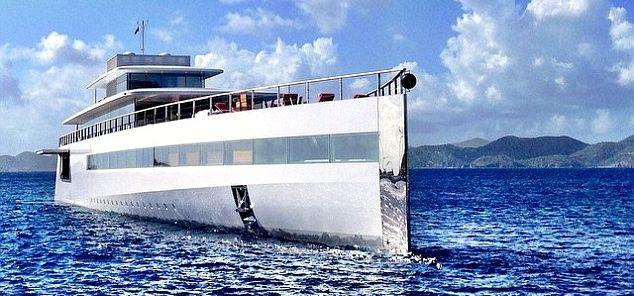 Die 100 Millionen Euro Yacht des verstorbenen Steve Jobs