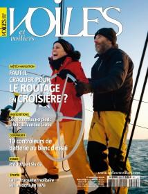 Der Titel der aktuellen Ausgabe © voiles et voiliers