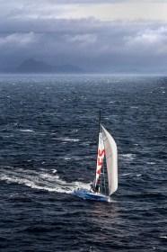 Die drittplatzierte GAES unter besten Bedingungen vor Kap Hoorn © Martin Raget