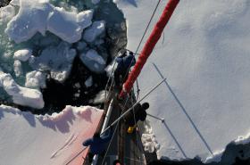 """Manche Passagen wurden mit """"außergewöhnlich schwierig"""" beschrieben © selma expedition"""