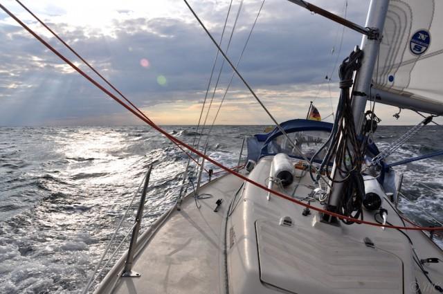 Herbsttour mit dem Segelboot in der südlichen Ostsee