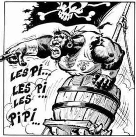 Humor ist, wenn man trotzdem lacht. Aus Bourgnons Website – die Piraten von Asterix und Obelix © uderzo