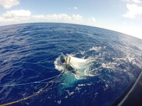 Hiermit sollen auf hoher See auf den 50ß Yachten Informationen zum Müll gesammelt werden © OceanCleanUp