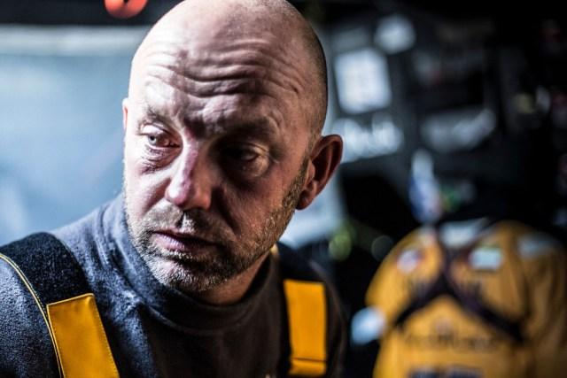 Mut zur Hässlichkeit. Ian Walker ist noch nicht in Feierstimmung. © Matt Knighton / Abu Dhabi Ocean Racing / Volvo Ocean Race