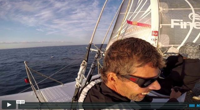 Video-Link: Hydroptère vor Los Angeles