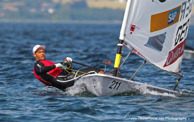 Philipp Buhl. Laser Standard, Europameisterschaft