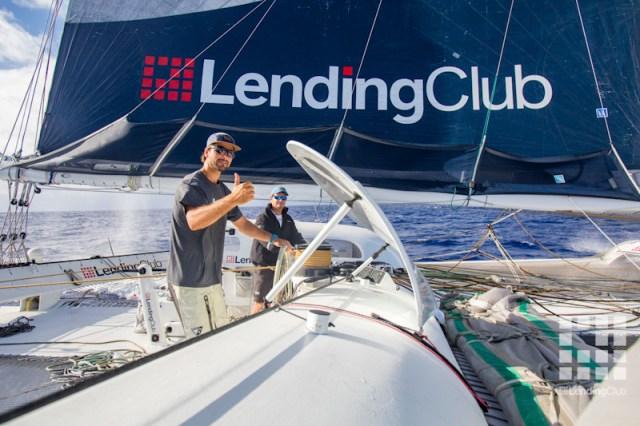 Lending Club, Boris Herrmann, Transpac Rekord