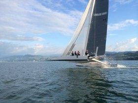 Hydros, Geschwindigkeitsrekord, Züricher See