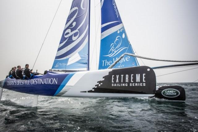 Extreme Sailing Series Hamburg