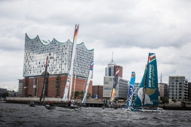 2015 Extreme Sailing Series - Act 5 - Hamburg.