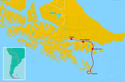 Die Route zum Kap. © Julbo